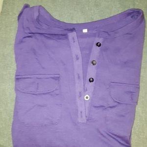 Gorgeous Purple Long Sleeve Tee, Unused.